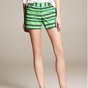 Banana Republic Marimekko Shorts dot print petite